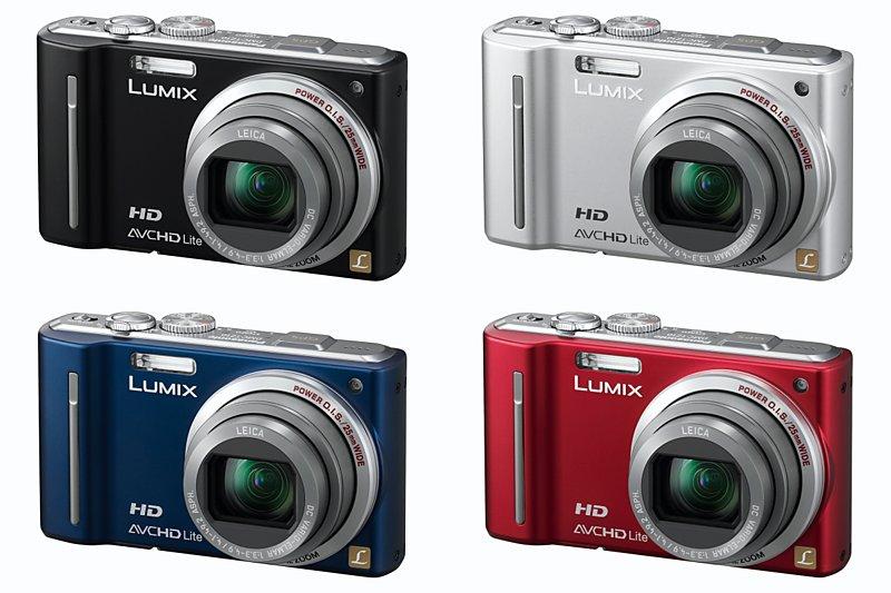 Panasonic Lumix TZ10 digital camera versions picture