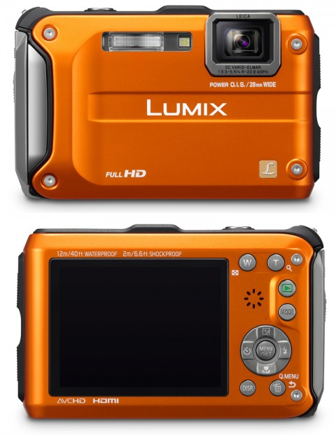 The new Panasonic Lumic TS3 rugged camera
