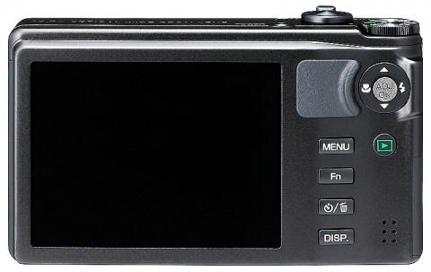 Ricoh CX5 superzoom LCD screen
