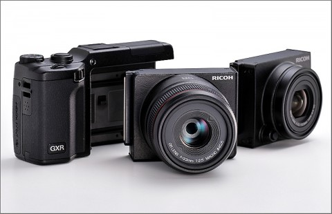 Ricoh GXR digital camera