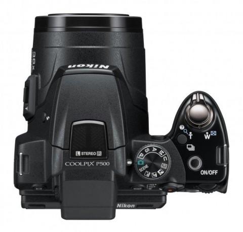 Nikon P500 camera