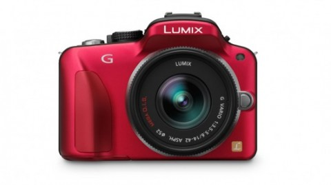 new red color of Panasonic Lumix DMC G3