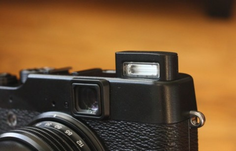 viewfinder of new Fujifilm X10
