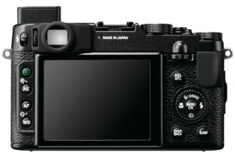 LCD of Fujifilm X10
