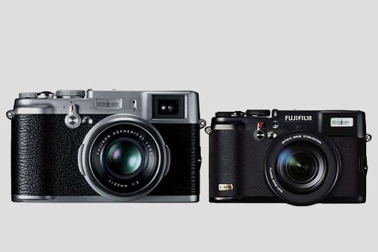 fujifilm x10 retro design digital cameras addict. Black Bedroom Furniture Sets. Home Design Ideas