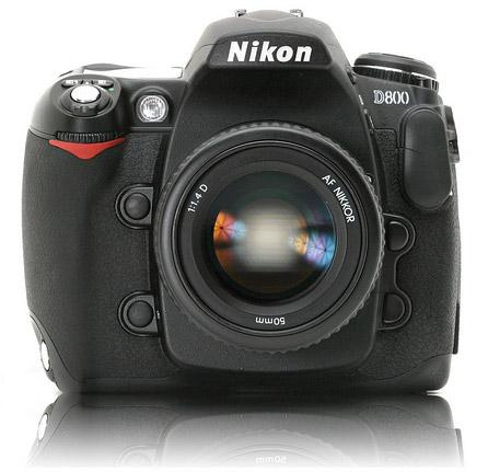 Nikon D800 DSLR new camera
