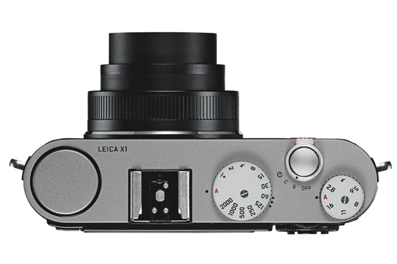 Leica x1 top viewed