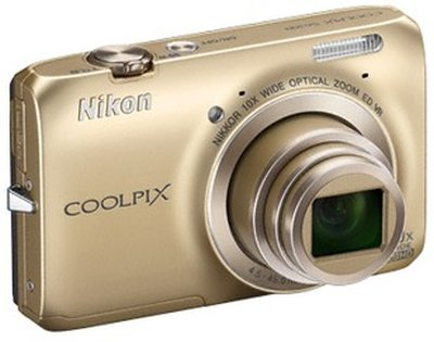 Coolpix S6300 point-and-shoot camera