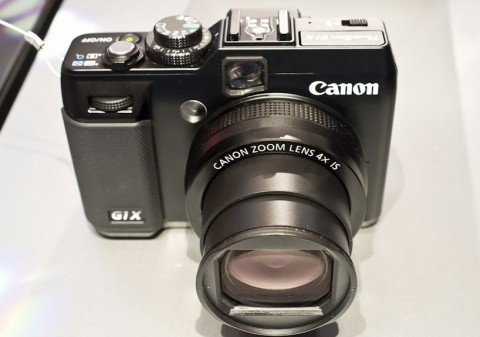 new G1 X premium camera from Canon