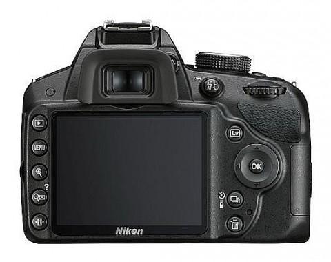 Nikon D3200 back