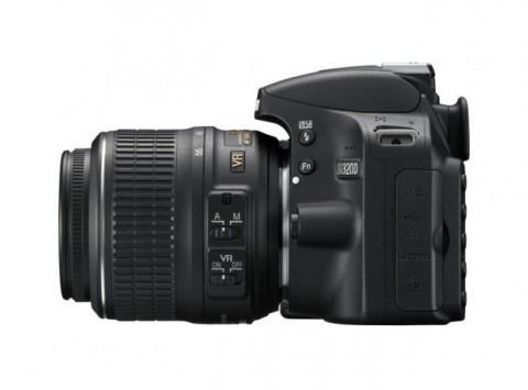 Nikon D3200 with VR lens