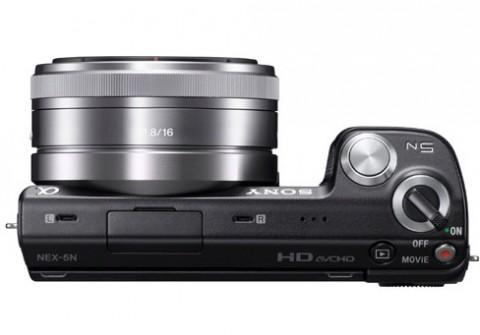 Sony Nex-5N controls