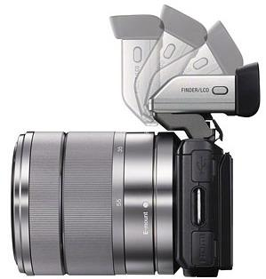 OLED electronic viewfinder of new NEX-5n