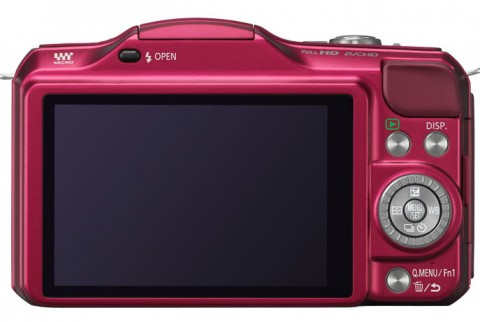 Panasonic Lumix DMC GF5 back