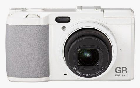Ricoh GR Digital IV limited white edition