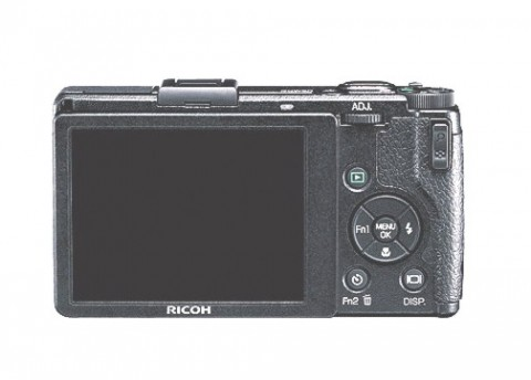 Ricoh GR Digital IV transparent LCD