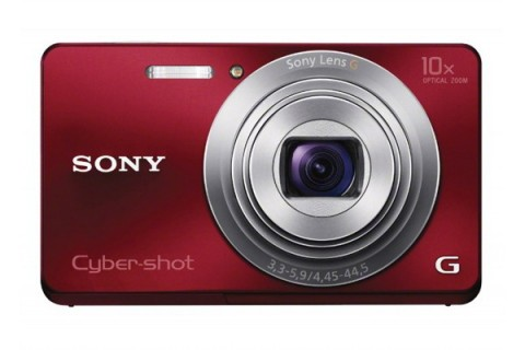 Sony Cyber-shot W690 red
