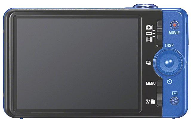 Sony Cyber-shot WX 150 display