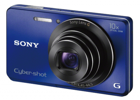 new AA lens of new Sony Cyber-shot W690