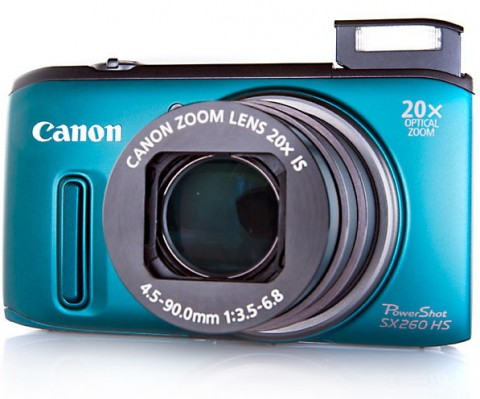 Canon Sx260 HS lens