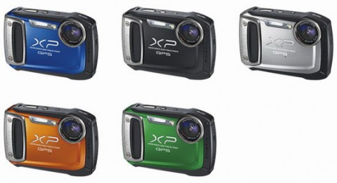Fujifilm XP 150 body colors