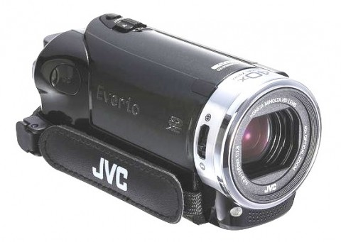 new JVC GZ-EX250 HD camcorder