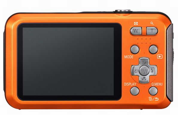 Panasonic Lumix TS20 controls