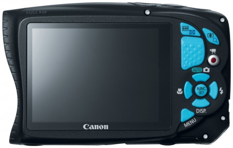 Canon PowerShot D20 display