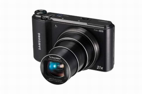 new Samsung WB850 with 21x optical zoom