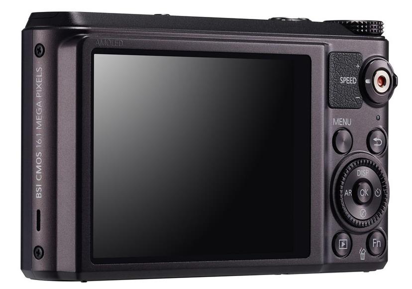 Samsung WB850F impressive display