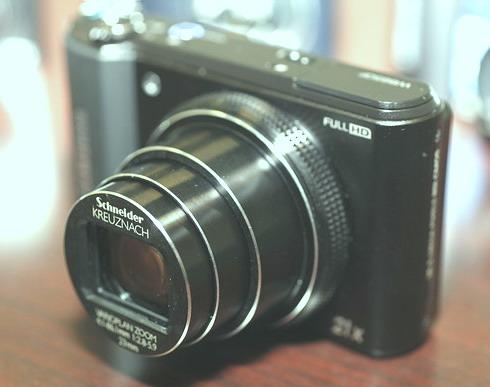21x zoom lens of Samsung WB850F