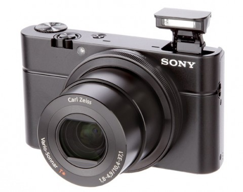 Sony Cyber-shot RX100 lens details