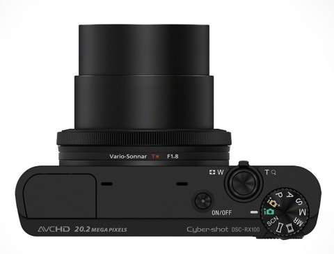 3.6x optical zoom from Sony RX100
