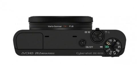 Sony Cybershot RX100 controls