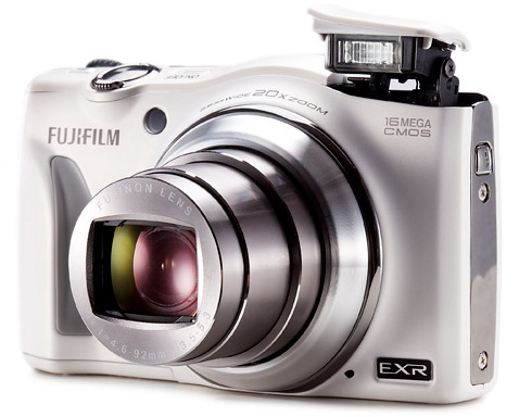 Fujifilm FinePix F750 EXR 20x optical zoom camera
