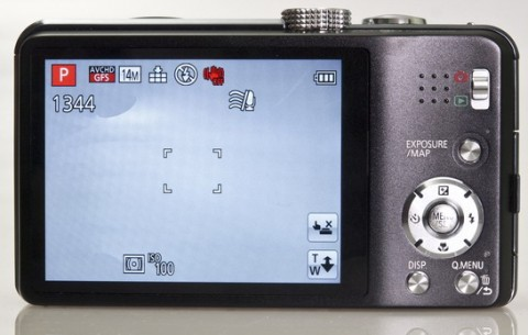 Panasonic Lumix ZS20 / TZ30 display