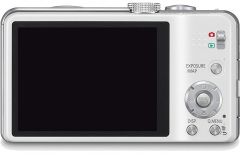 Lumix DMC-ZS20 touchscreen LCD