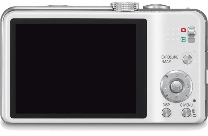 Lumix DMC-ZS20 touchscreen LCD