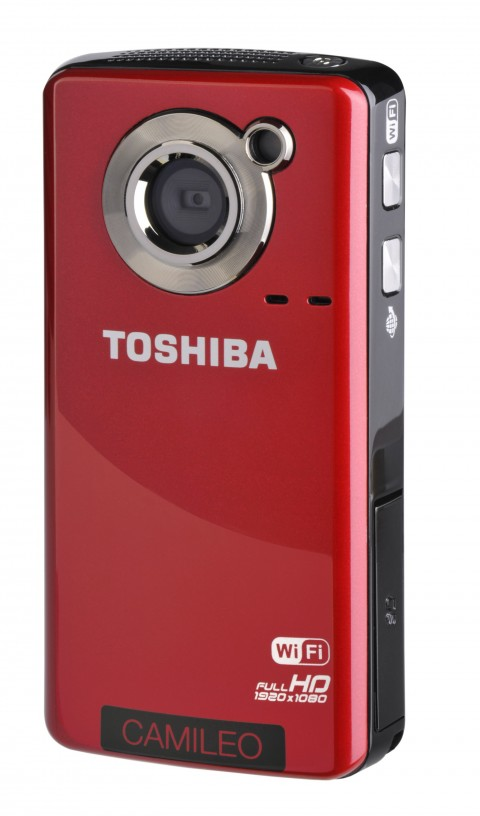 Toshiba Camileo Air10 Wi-Fi HD camcorder
