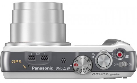 Panasonic Lumix DMC-ZS20 controls