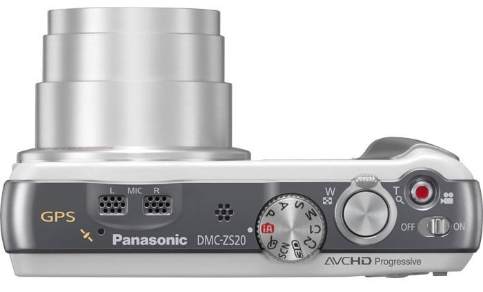 Panasonic Lumix DMC-ZS20 controls