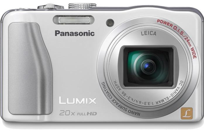 Panasonic Lumix DMC-ZS20 lens
