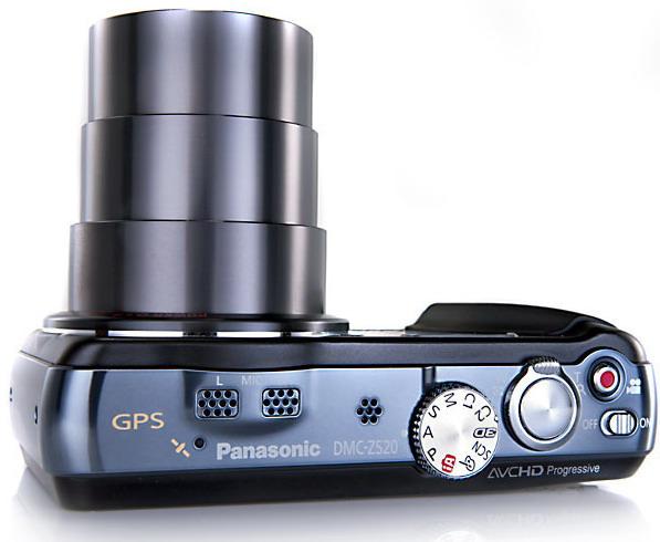 Lumix ZS20 20x optical zoom compact camera