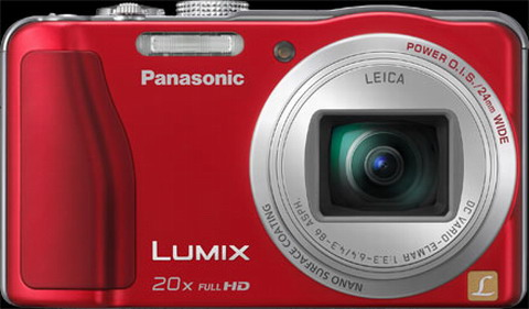Panasonic ZS20 red