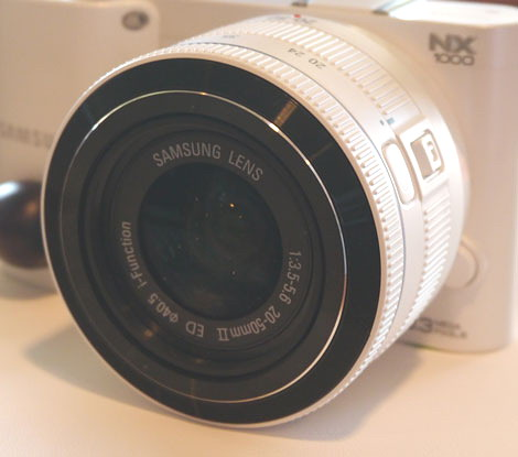 New NX1000 compact camera from Samsung