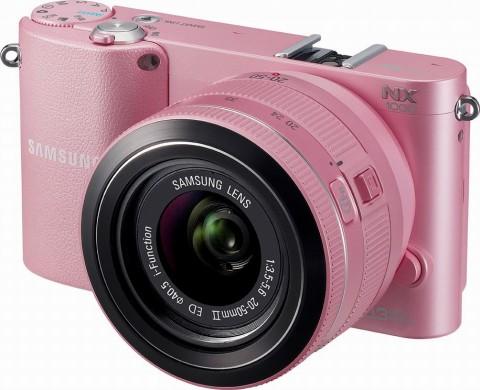 Samsung NX1000 pink body color