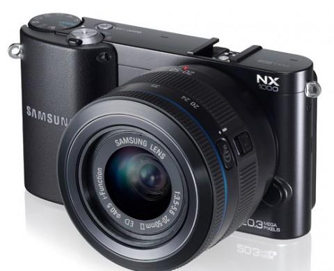 Samsung NX1000 mirrorless compact camera