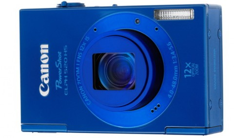 PowerShot 520 HS blue body color