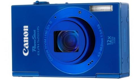 PowerShot 520 HS blue body color
