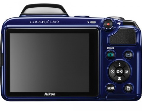 Coolpix L810 blue